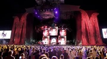 2009.07.16 concerto di Madonna allo stadio Friuli di Udine