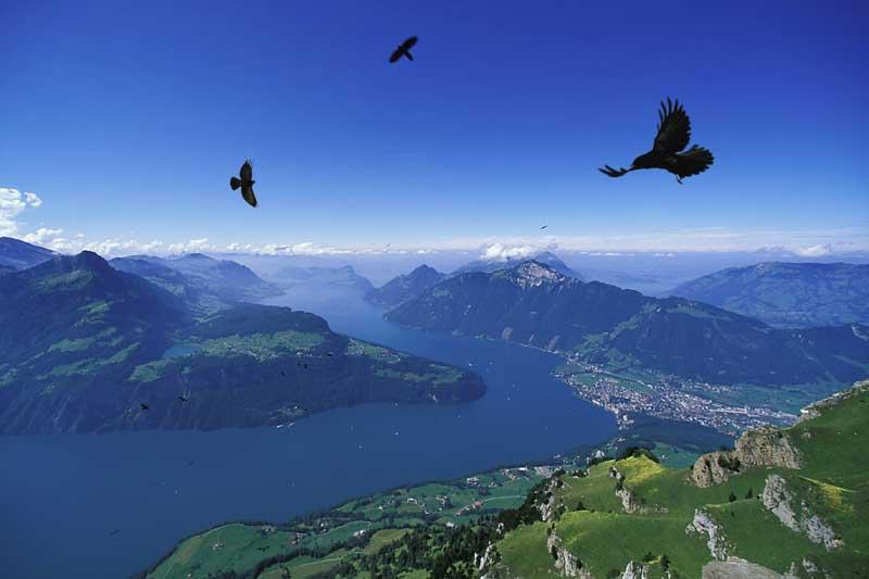 Einsiedeln: pellegrini nel convento degli angeli