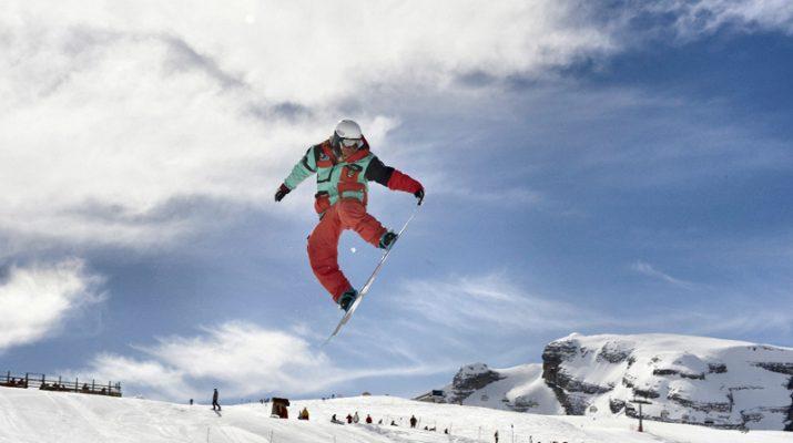 Foto Madonna di Campiglio: snowpark e boardercross con tutta la famiglia