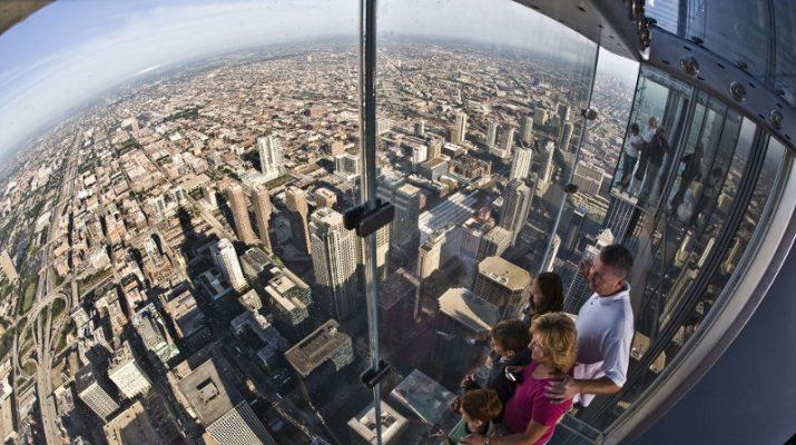 Foto Chicago: con i piedi sulle nuvole