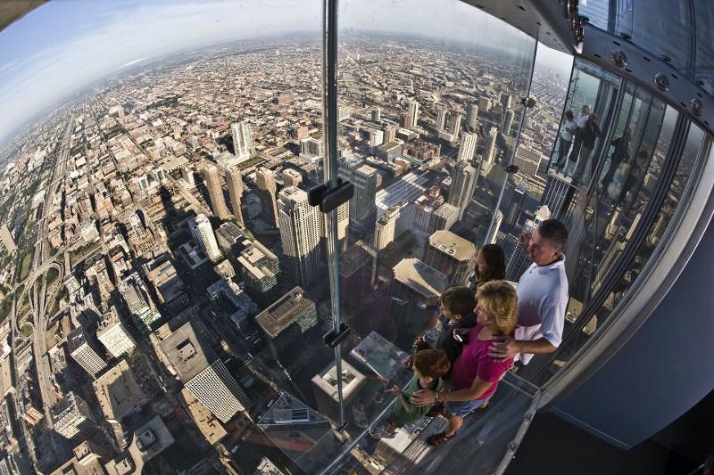 Chicago: con i piedi sulle nuvole