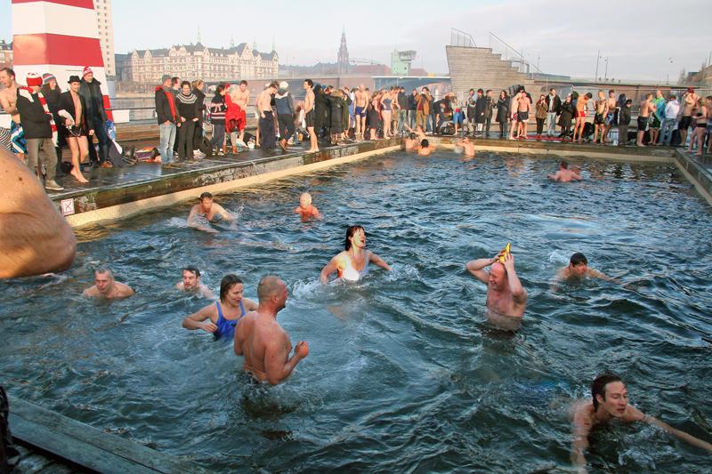 Copenhagen, tuffo nel nuovo anno