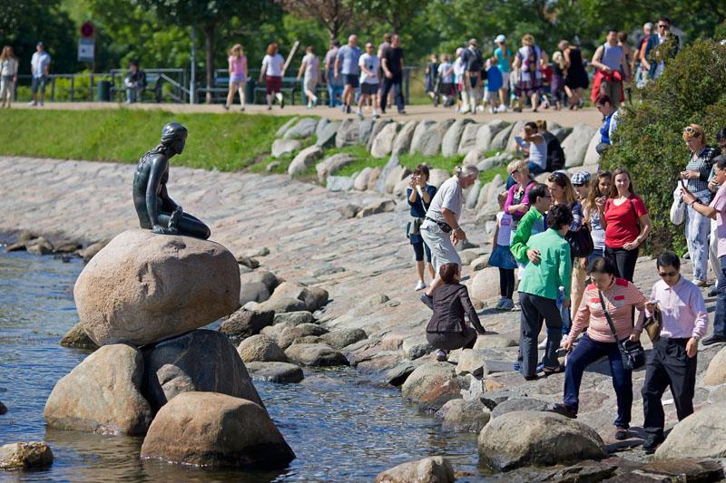 Copenhagen: tanti auguri Sirenetta