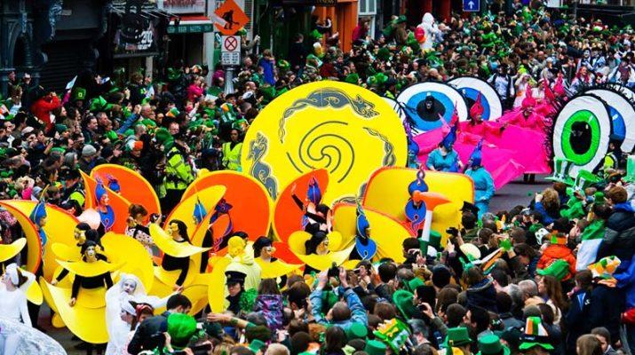 Foto St. Patrick's Day: Dublino in festa