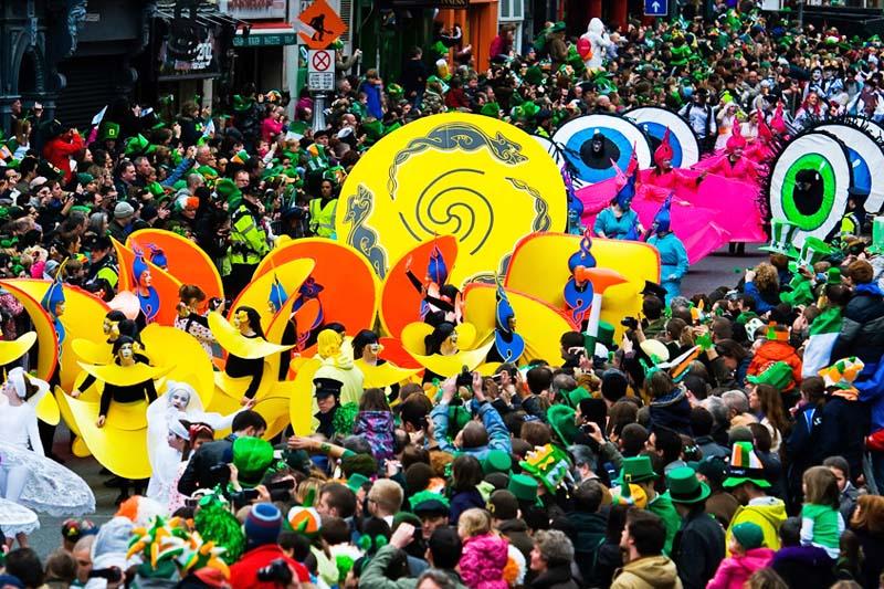 St. Patrick's Day: Dublino in festa