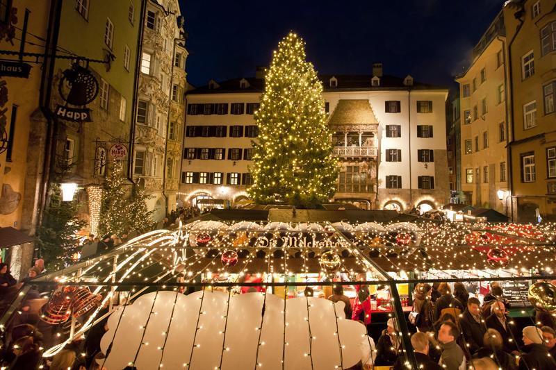 Innsbruck e i cristalli di neve