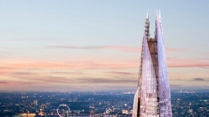Foto Londra vista dall'alto