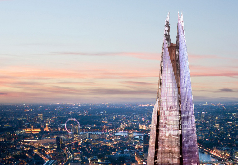 Londra vista dall'alto