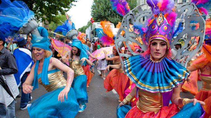 Foto Notting Hill Carnival, l?estate giocosa di Londra