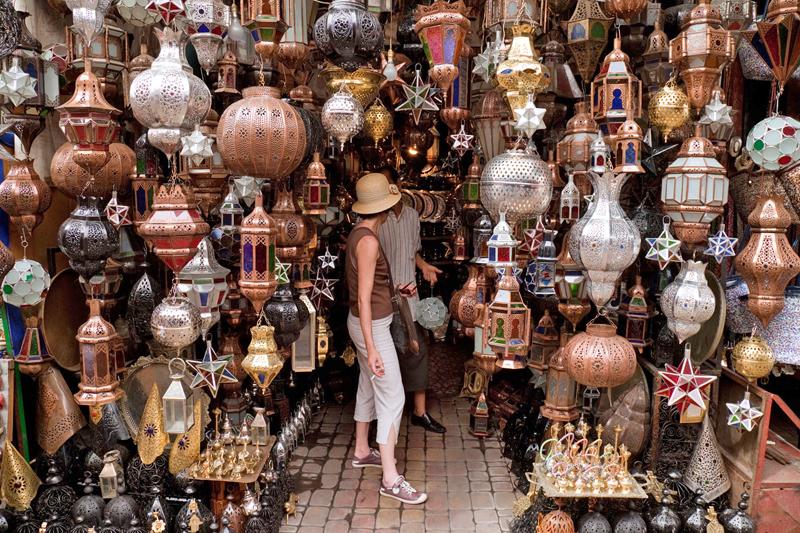 Shopping nel suk: regali e souvenir da Marrakech
