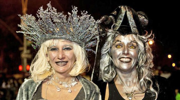Foto New York da brivido: i 40 anni dell'Halloween Parade
