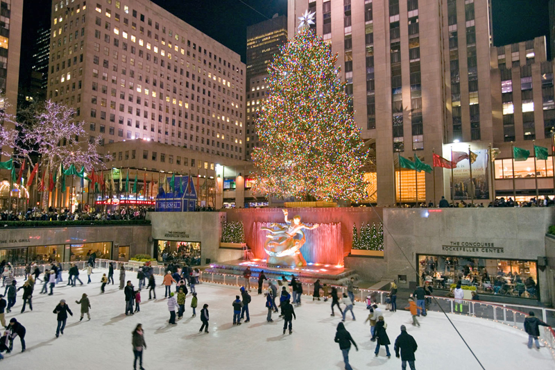 Magie d'inverno a New York