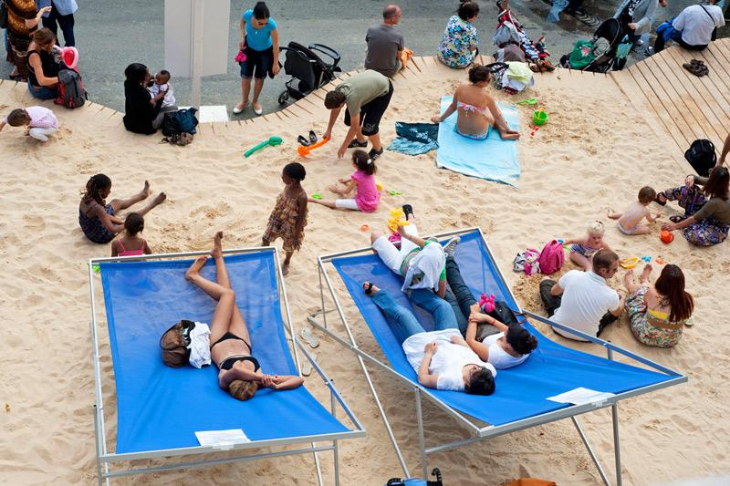 Parigi in spiaggia, l'estate sulla Senna