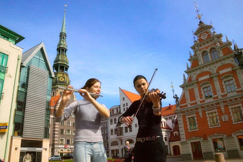 Tris baltico: Riga, Vilnius, Tallin