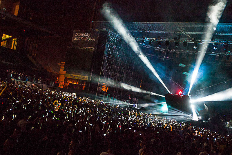 Roma, notti a ritmo rock