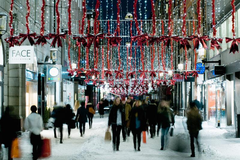 Stoccolma, shopping di Natale