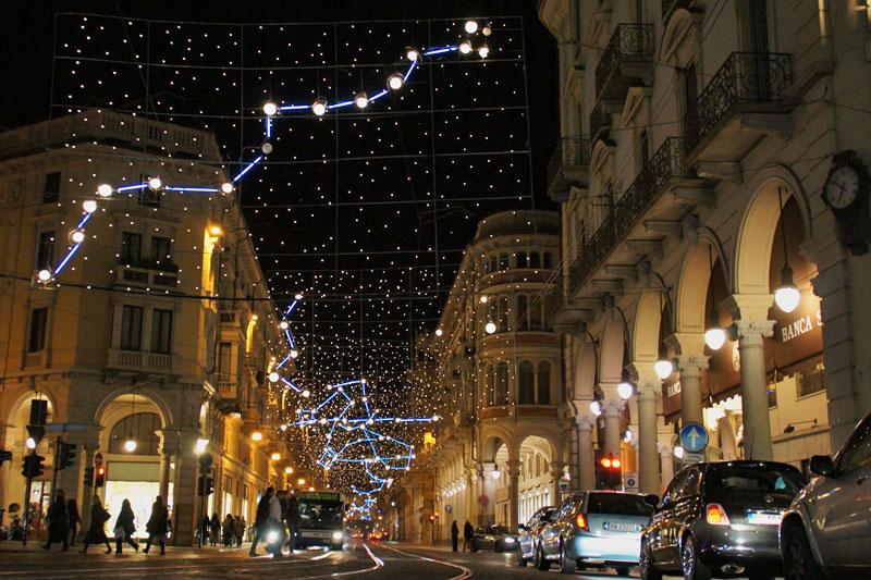Torino e la magia di Luci d'Artista