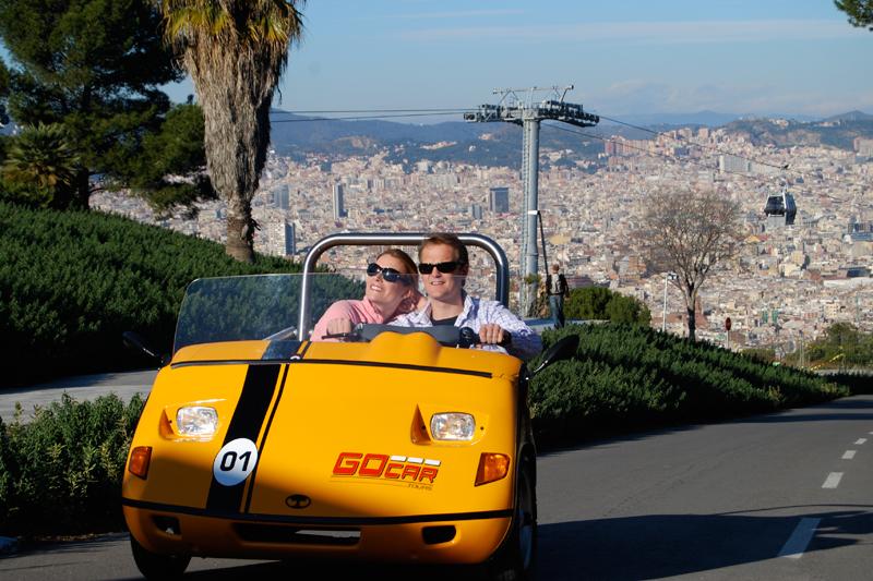 Barcellona su tre ruote