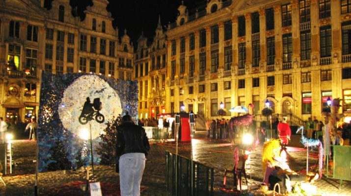 Foto A Bruxelles arriva la Notte bianca, e la città si accende d'arte