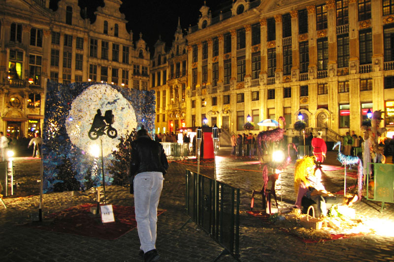 A Bruxelles arriva la Notte bianca, e la città si accende d'arte