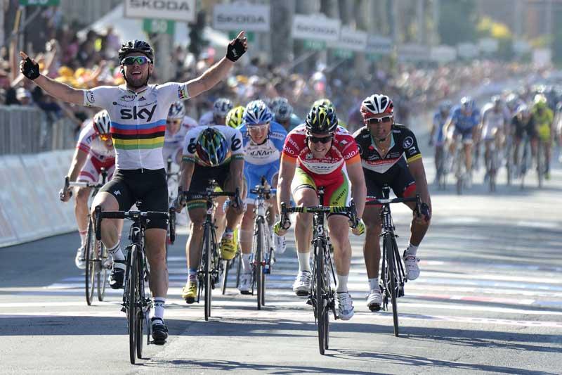 Giro d'Italia: da Longarone a Treviso