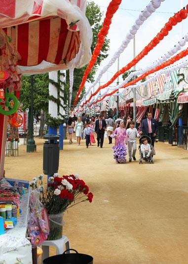 Feria de Abril, divertirsi a Siviglia