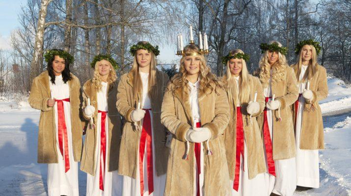 Foto L?atmosfera natalizia scalda la Svezia