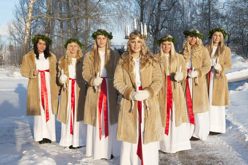 L?atmosfera natalizia scalda la Svezia