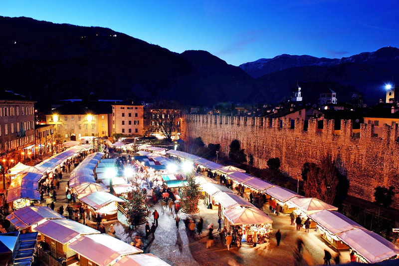 Trentino e la magia dei mercatini