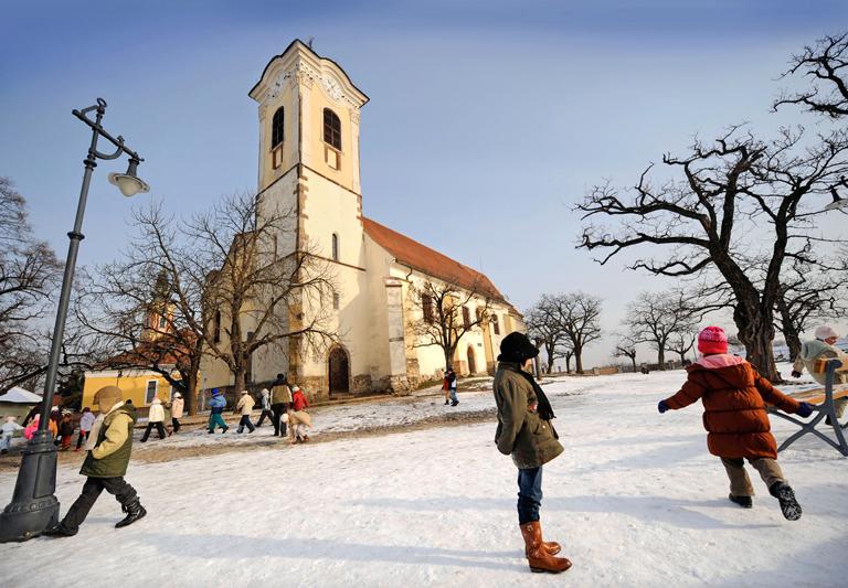 Budapest, feste d'inverno