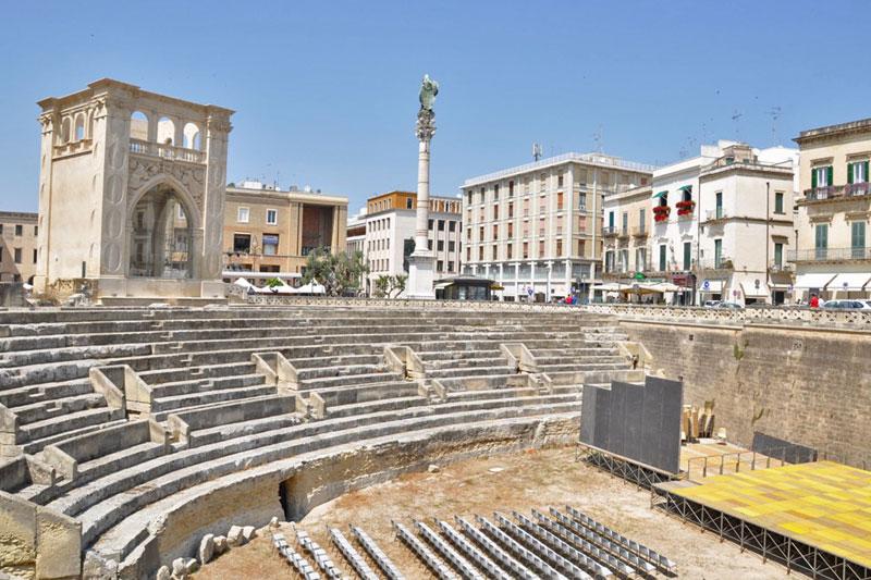 A Lecce, con gli scarponcini