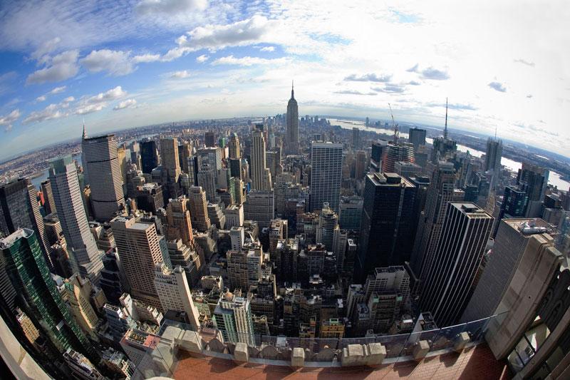 New York da vertigini