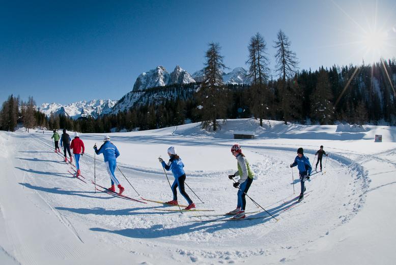 Cortina d'Ampezzo: il paradiso dello sci nordico