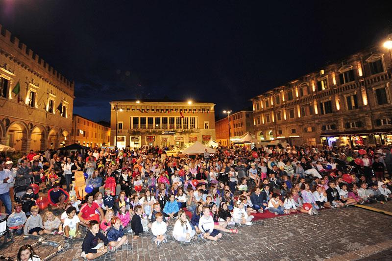 Mezzanotte Bianca, la festa dei bambini a Pesaro