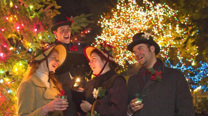 Foto Natale multietnico a Vancouver