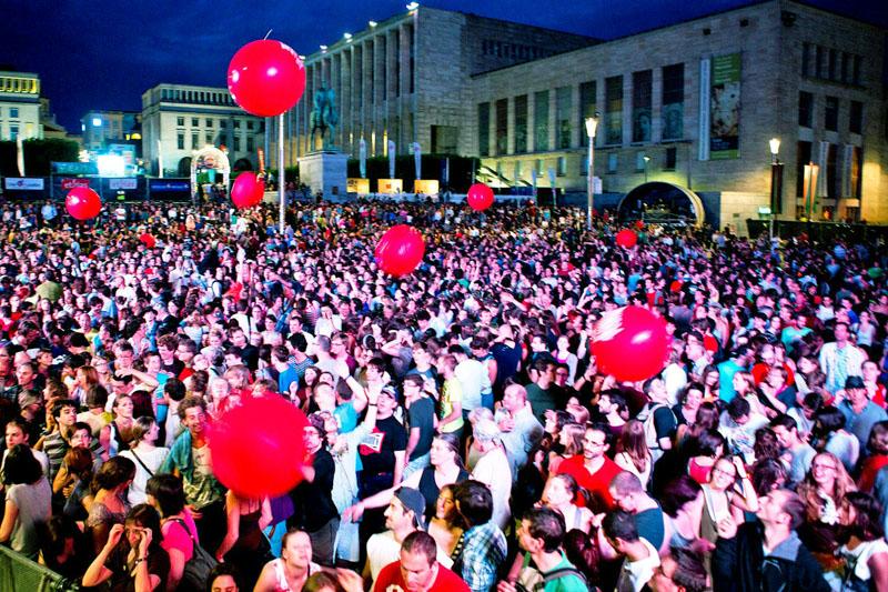 Bruxelles a passo di festival