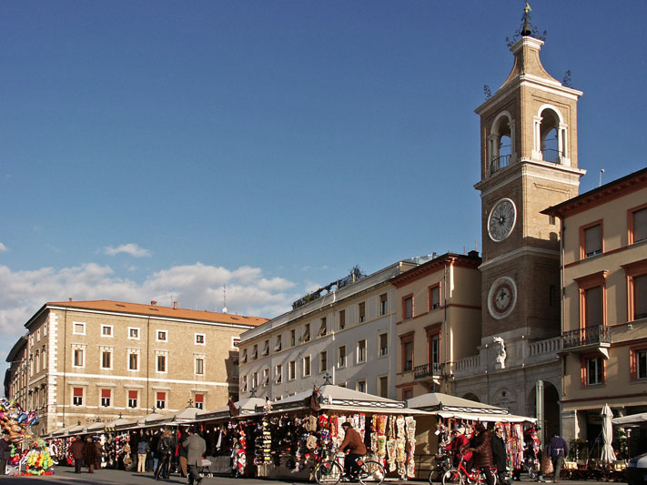 Rimini, brindisi in Riviera