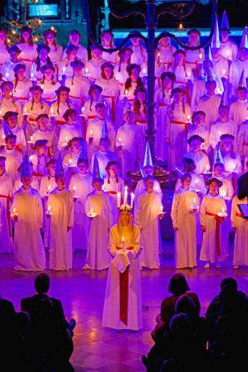 Stoccolma natalizia, inseguendo i cori di Santa Lucia