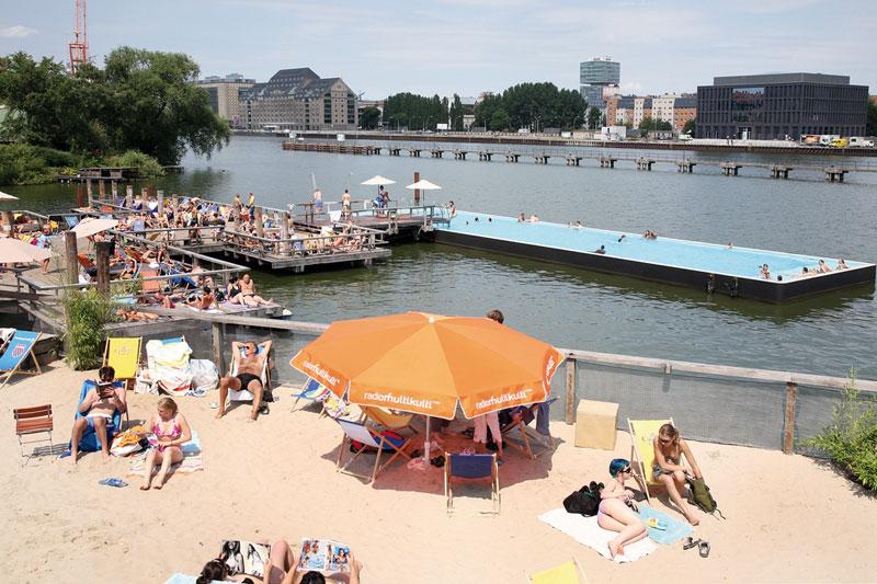 Berlino, l'estate dei beach bar