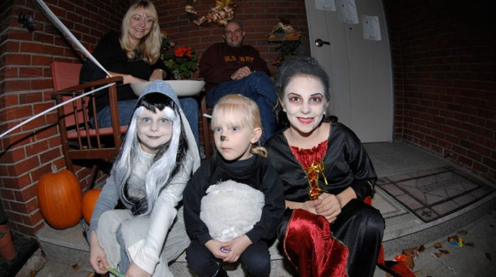 Foto Halloween a Londra: trick or treat?
