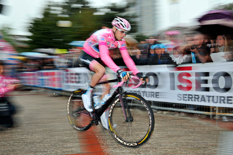 Sulla costiera per il Giro d'Italia