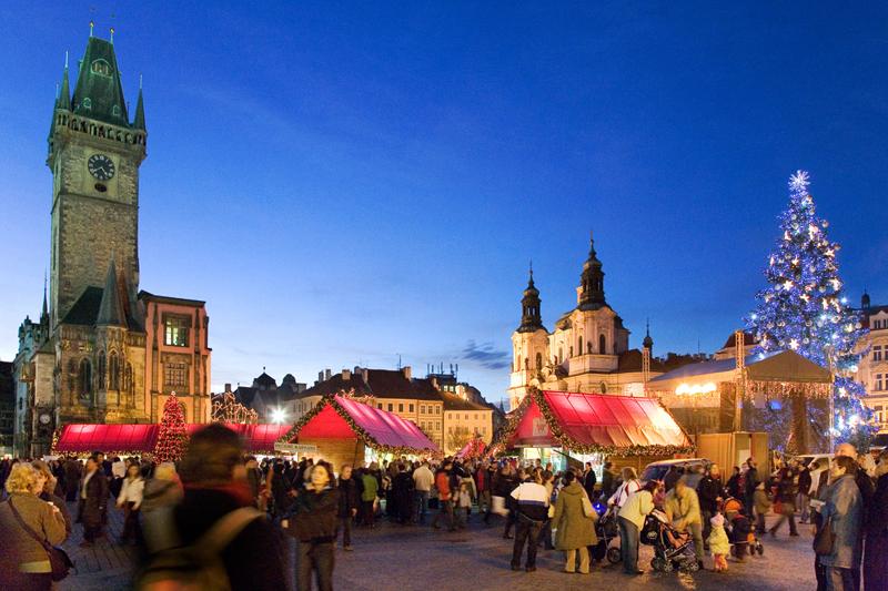 Praga: romantico inverno