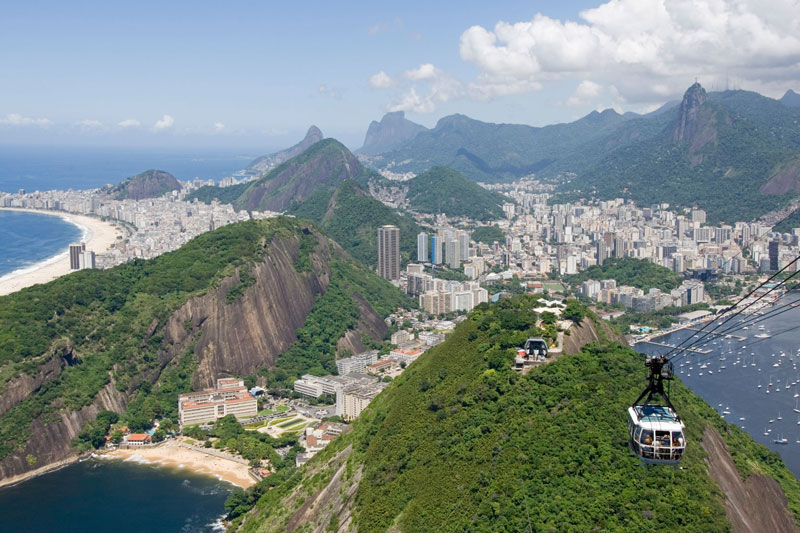 Rio de Janeiro: la Cidade è subito Maravilhosa vista dall?alto