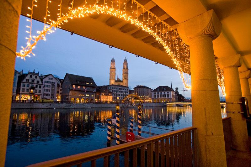 Romantiche atmosfere: a Zurigo per i mercatini