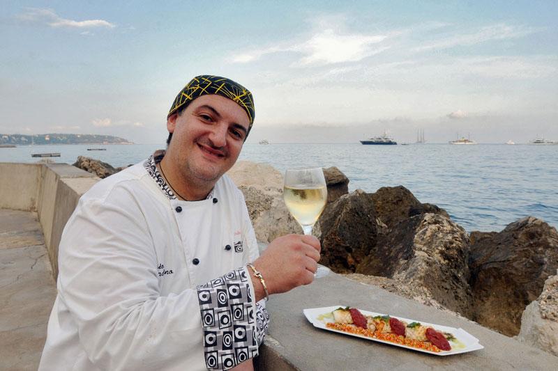 Costa Azzurra: ristoranti sulla sabbia
