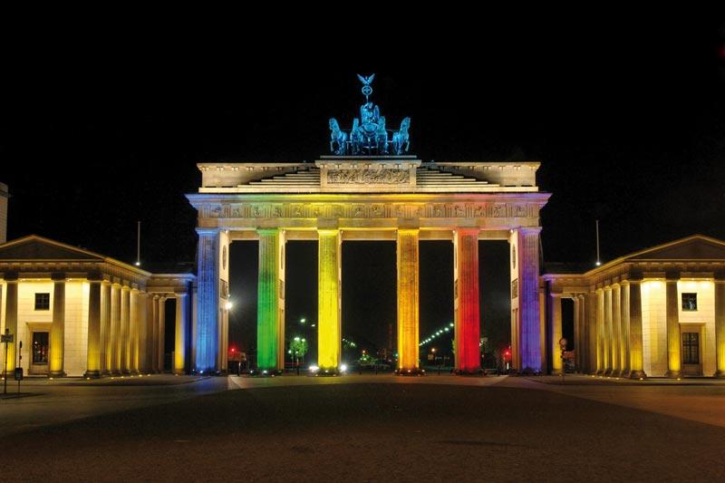 Berlino s'illumina