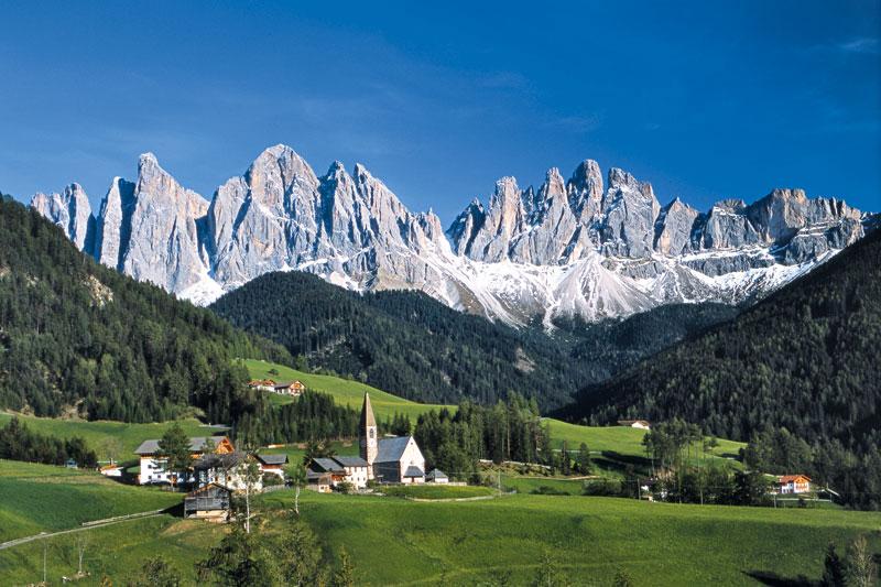 Camminare tra le Dolomiti