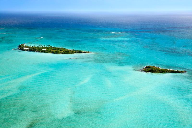 Un piccolo paradiso nelle Bahamas