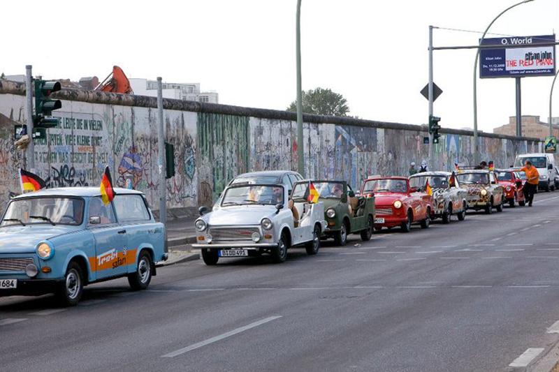 Berlino d'epoca: tour in Trabant