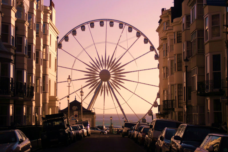 Brighton, l'anima scoppiettante dell'Inghilterra